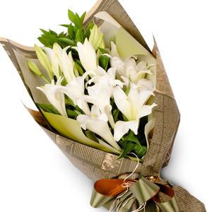 백합꽃다발 11C